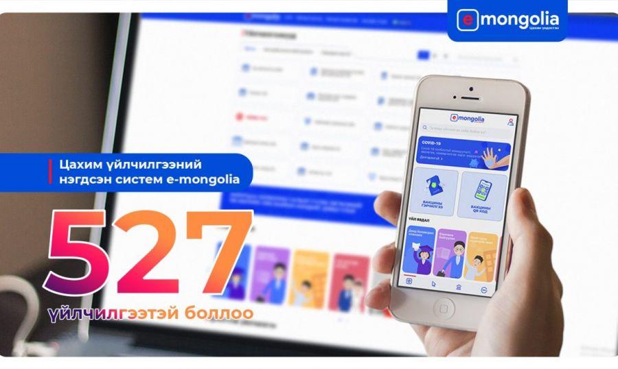 """Иргэн, аж ахуйн нэгжид зориулсан 527 үйлчилгээ """"e-Mongolia""""-д орлоо"""